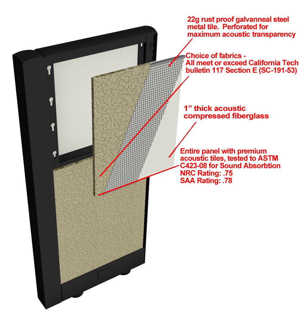 Xybix's Acoustical Panel Tile Detail