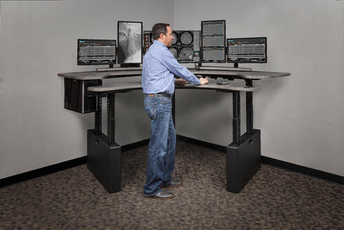 Xybix Imaging Desk for Radiologist