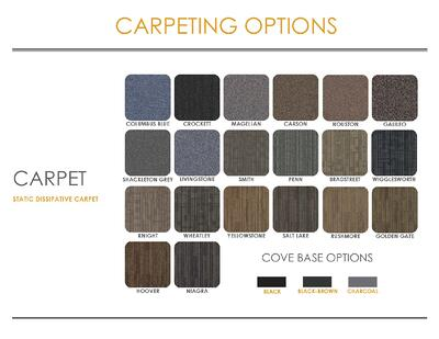 2021 Eagle Line Finish Brochure with Carpeting Carpet Selections