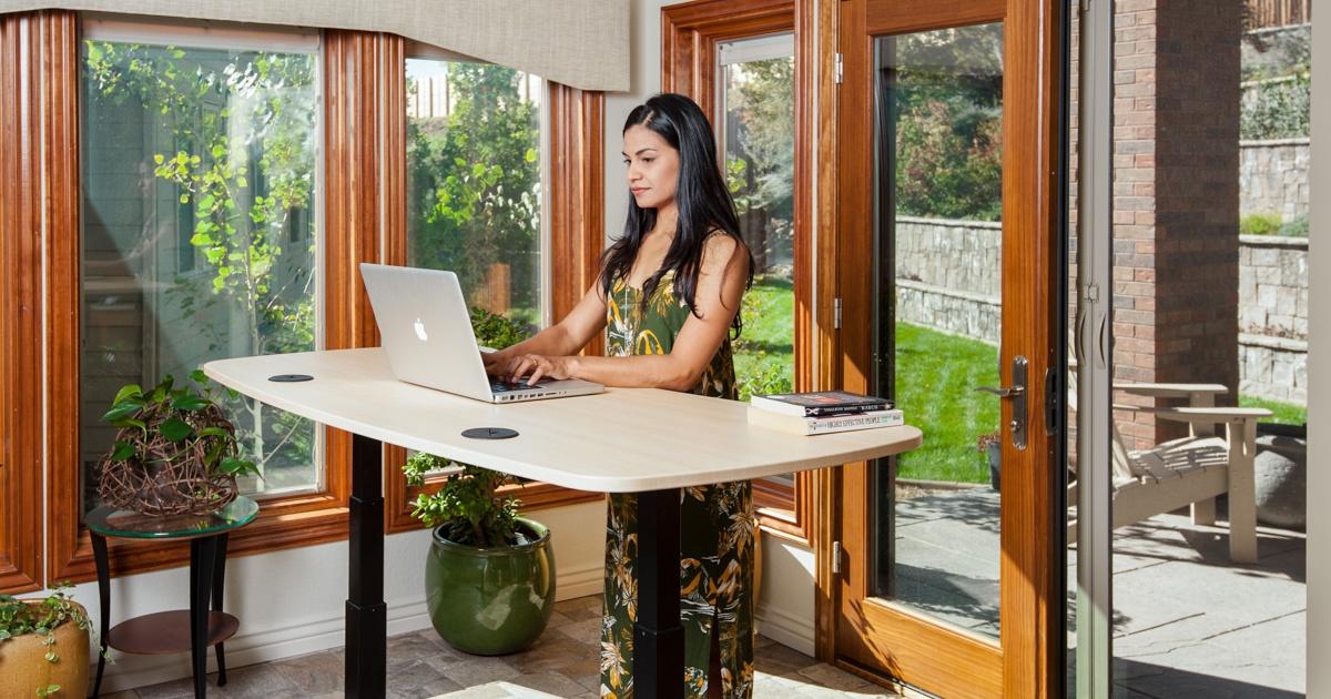 MojoDesk   Standing Desks   Height Adjustable Sit Stand Desk
