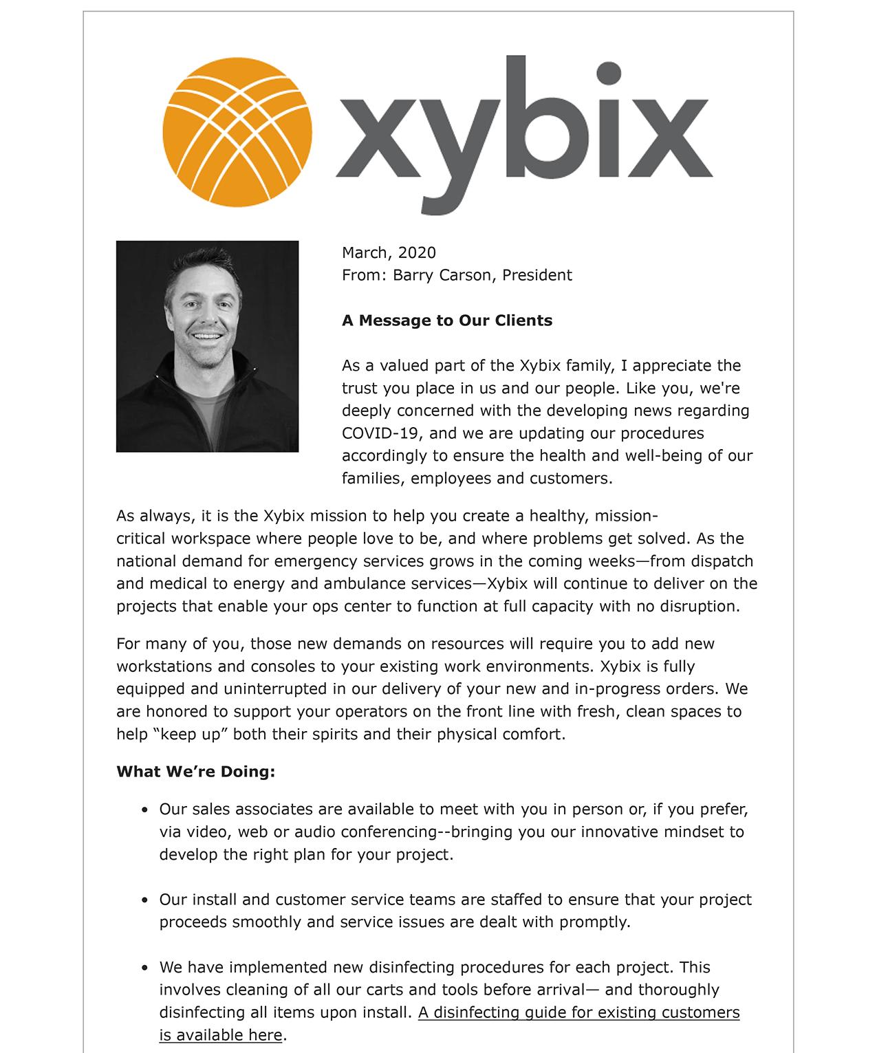 Xybix & COVID-19-1