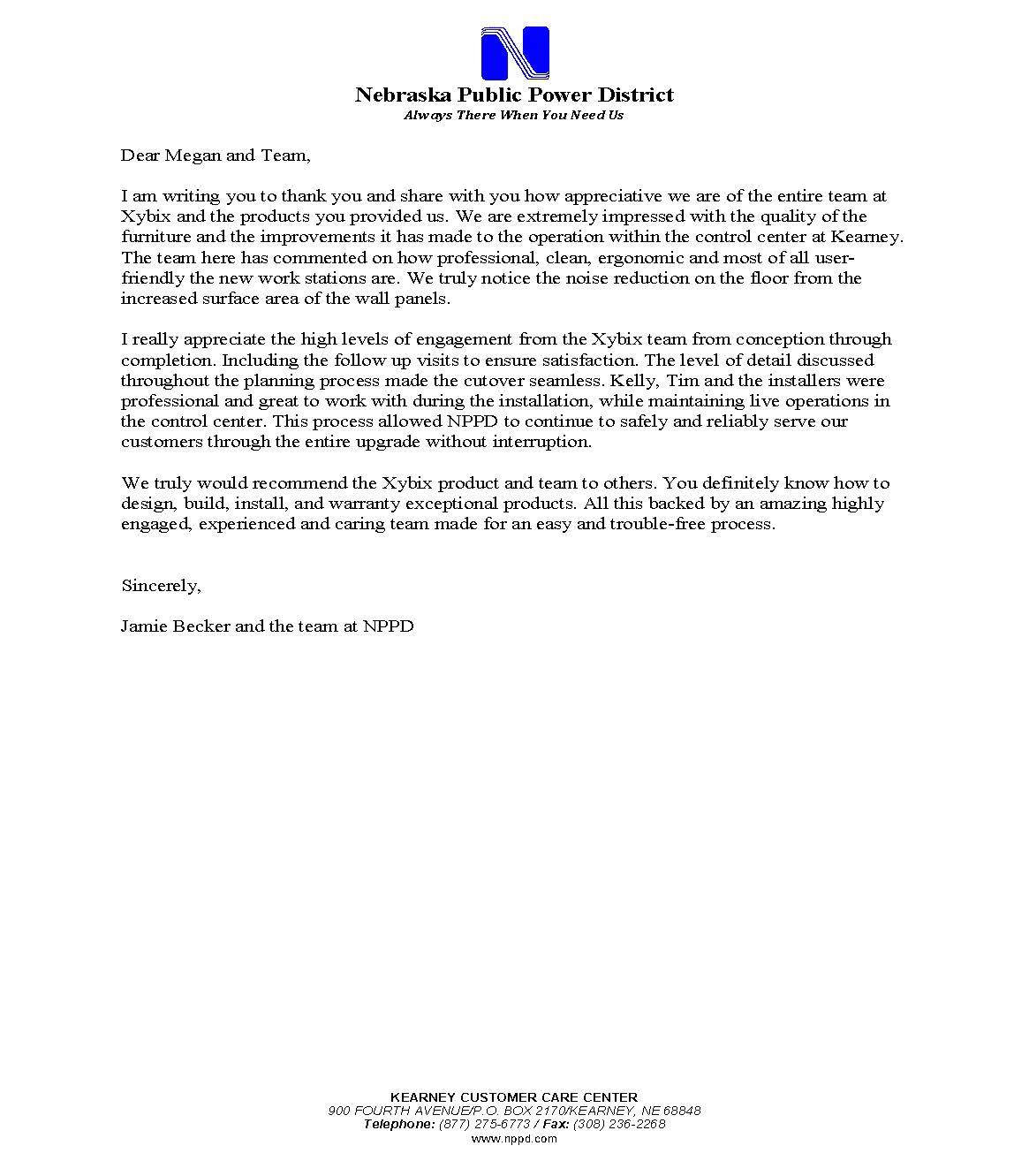 Reference Letter_NPPD_Kearney_Oct 2018