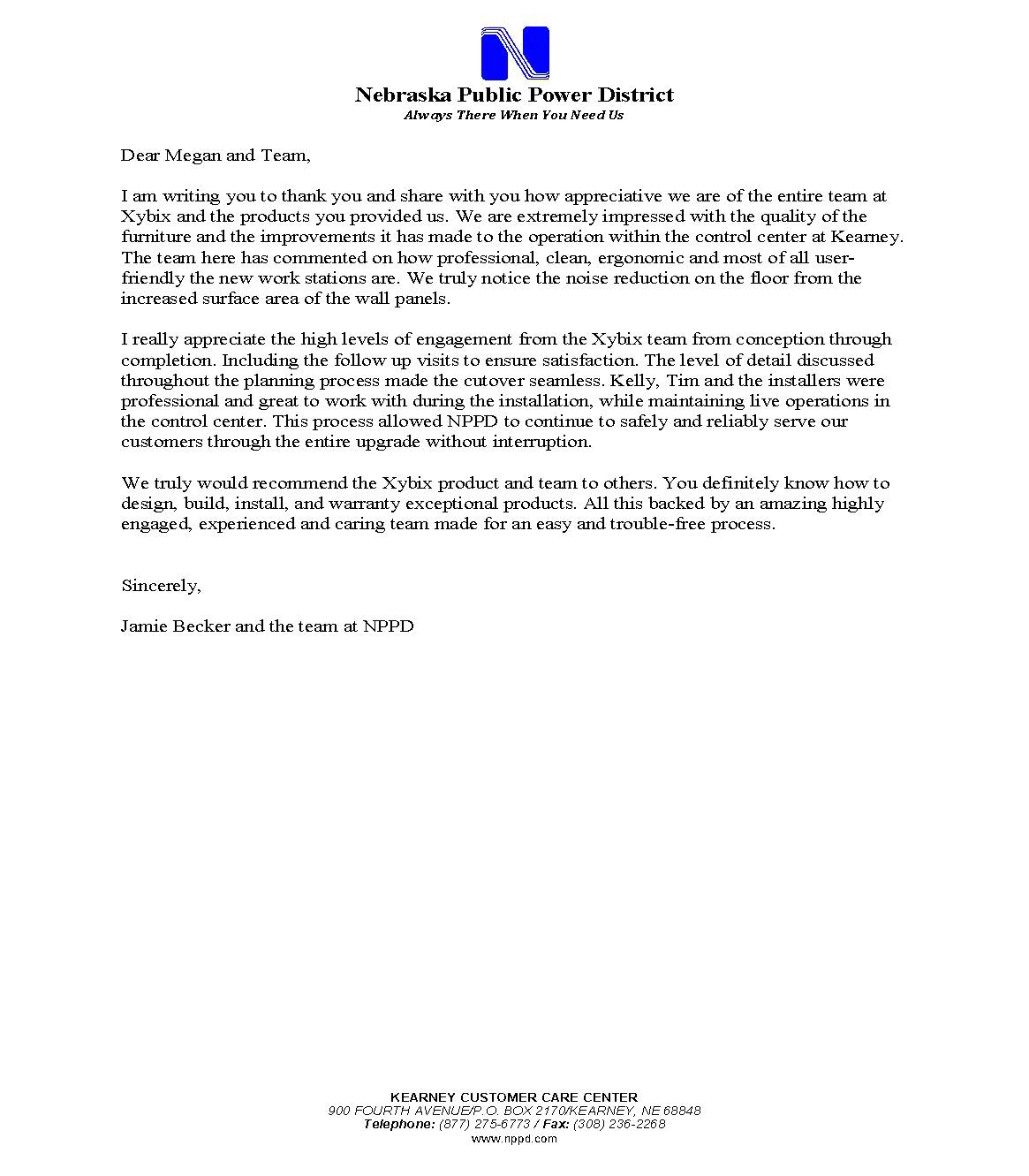 Reference Letter_NPPD_Kearney_Oct 2018