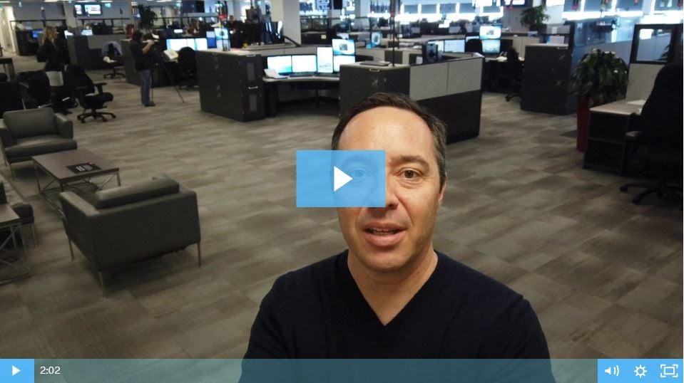 Inside Calgary 911 Dispatch Installation Xybix