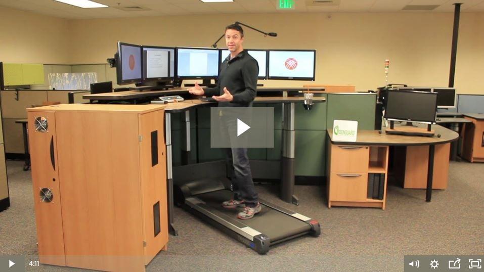 Xybix Health Treadmill Video
