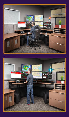 Sit to Stand Command and Control Consoles