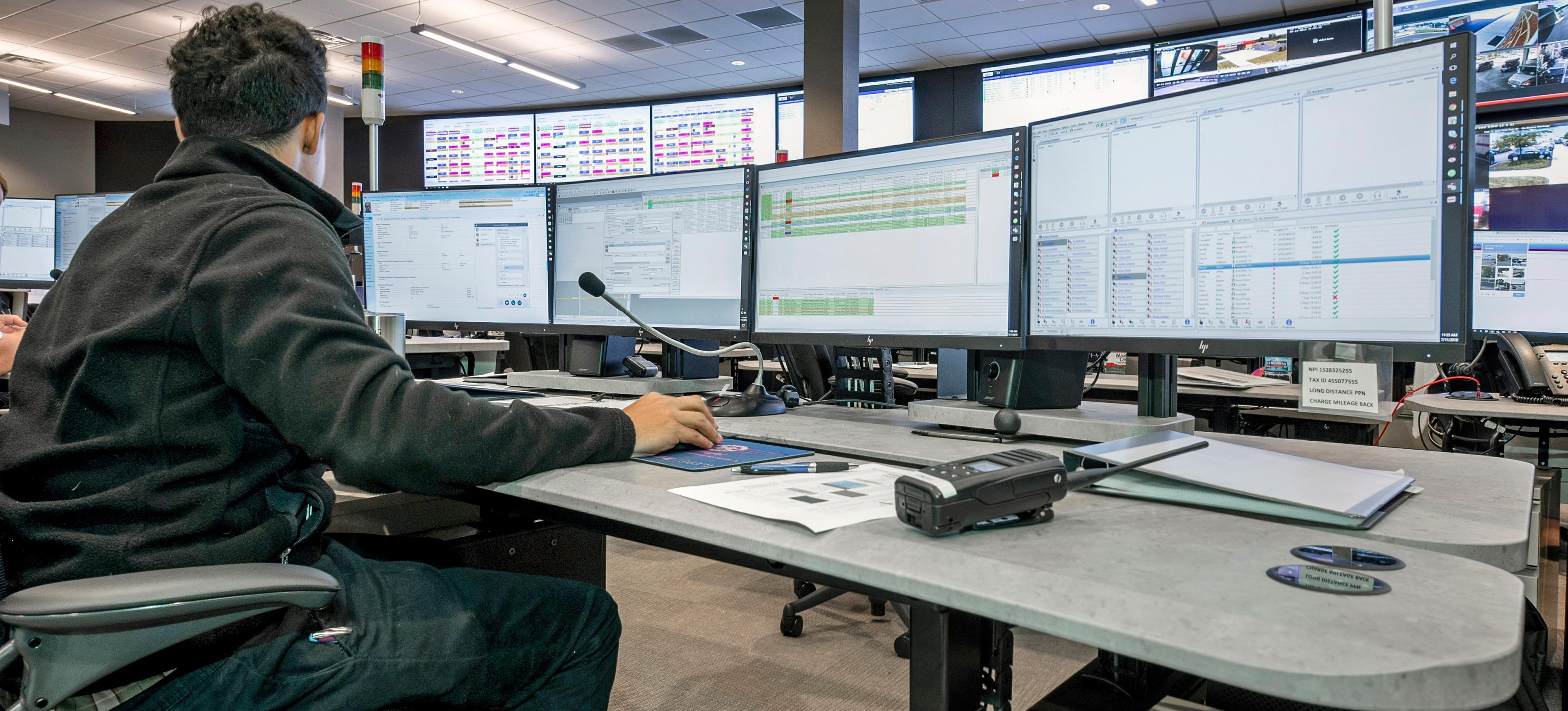Xybix Command Center Consoles