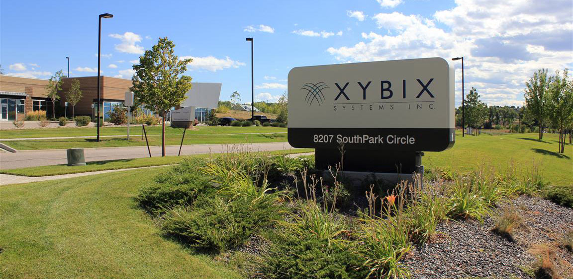 Xybix Home Office Facility Sign