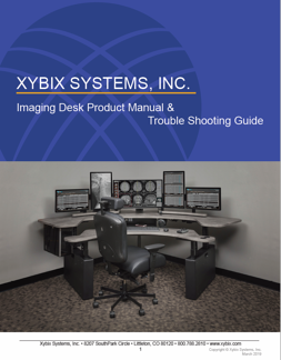 Xybix Imaging Desk Product Manual