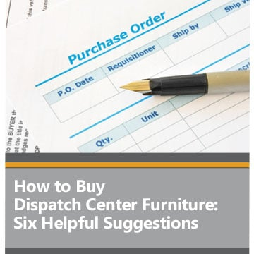 How to buy dispatch center furniture