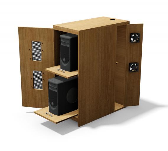 Open CPU Cabinet