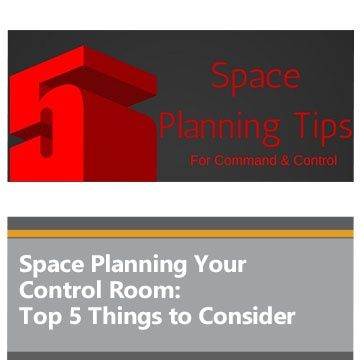 Space Planning Your Control Room: Top 5 Things to Consider