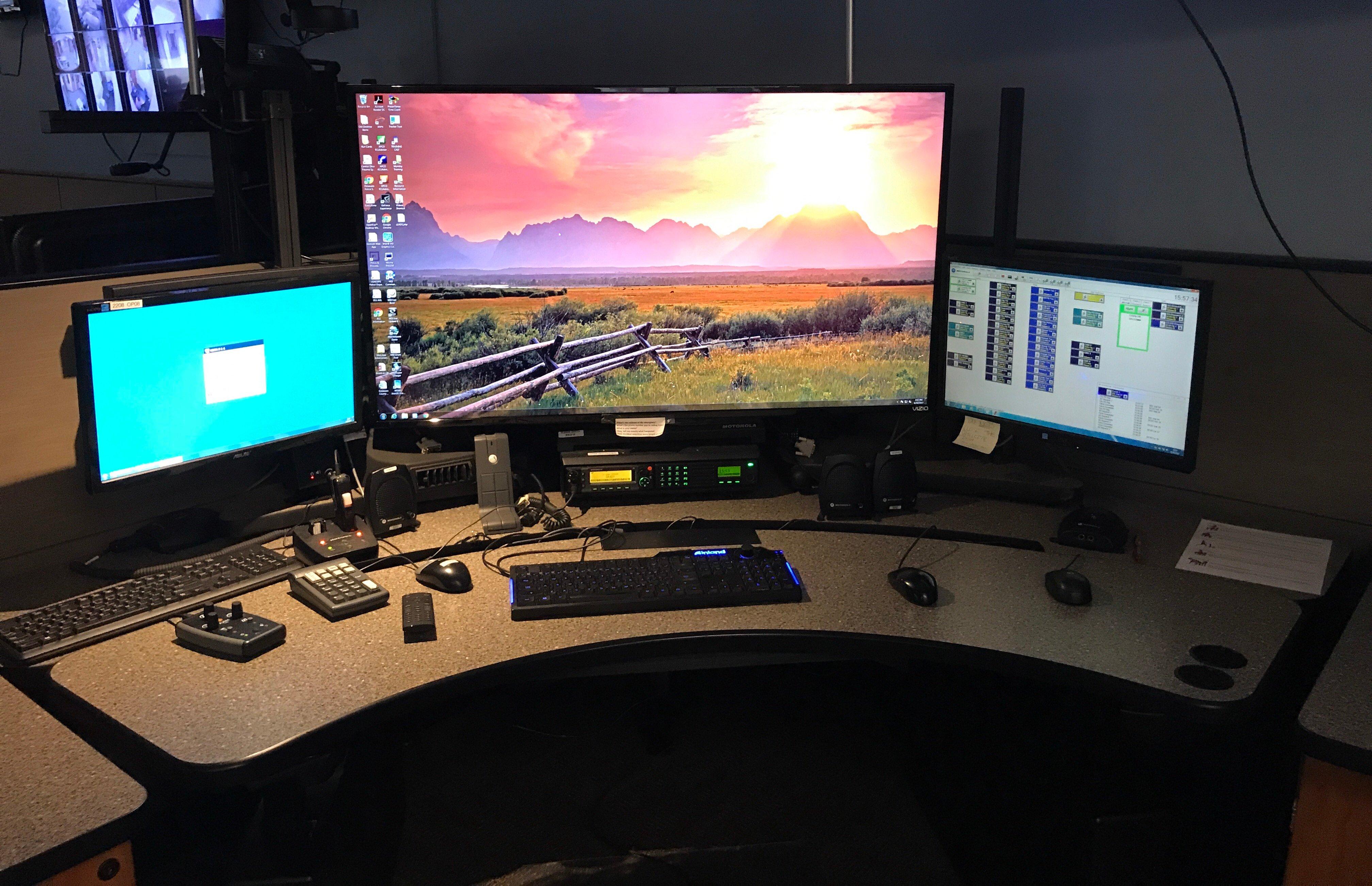Xybix Larger Monitor Mount for National Ergonomic Standards