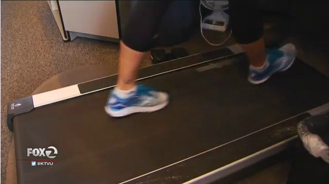 Treadmill Under Standing Desk
