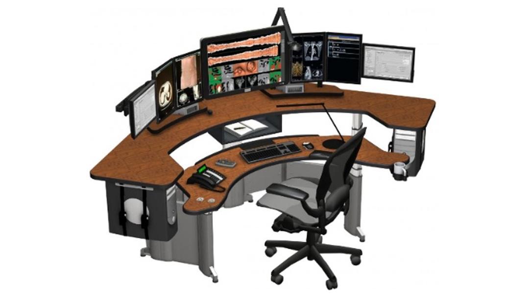 Medical Imaging Desk Rendering Xybix