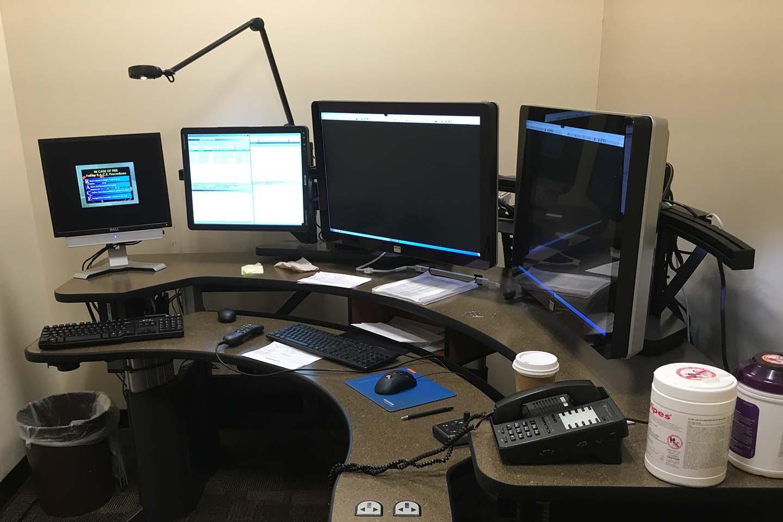Radiology Desk 1