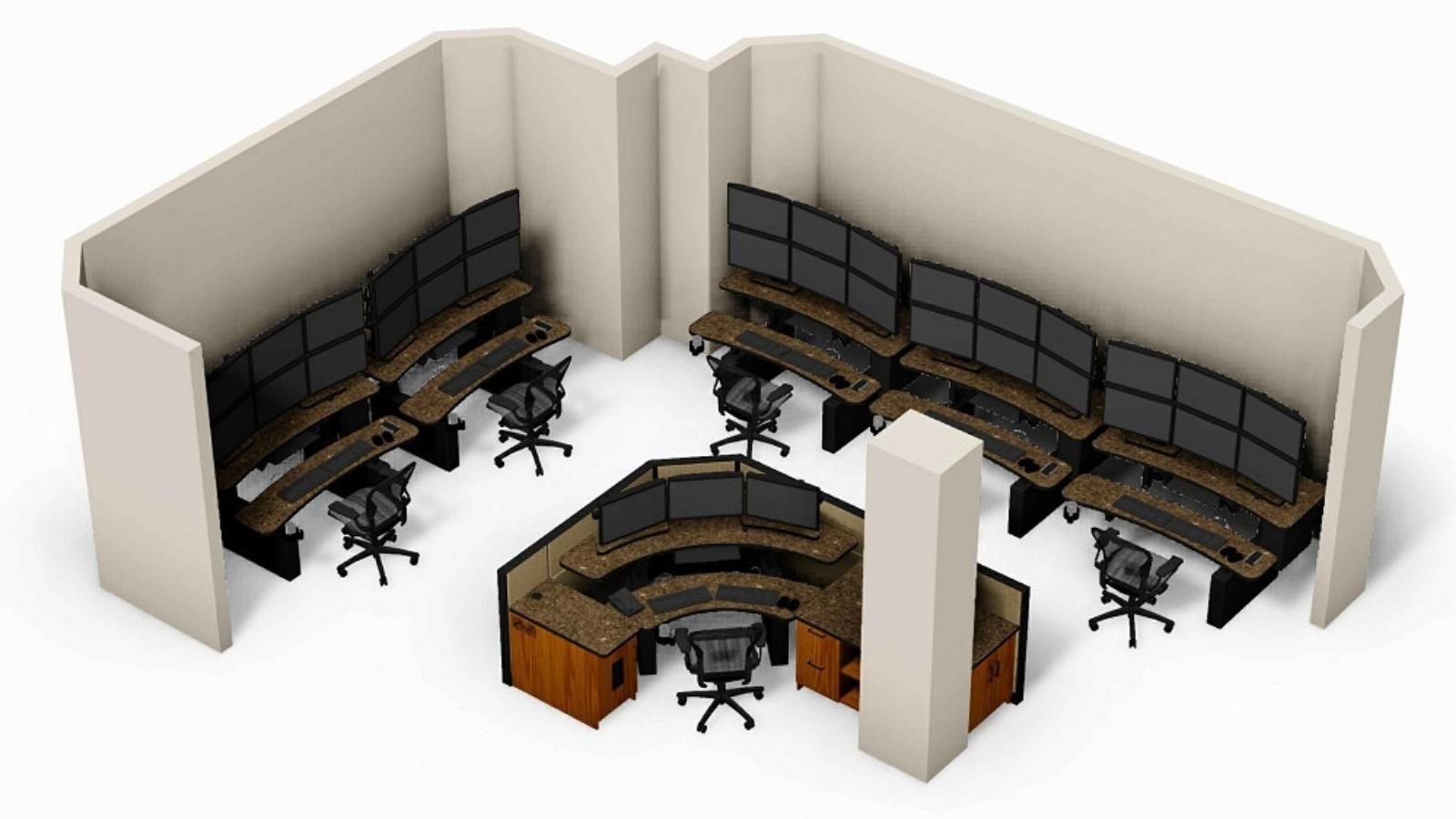 Casino Rama Surveillance Room