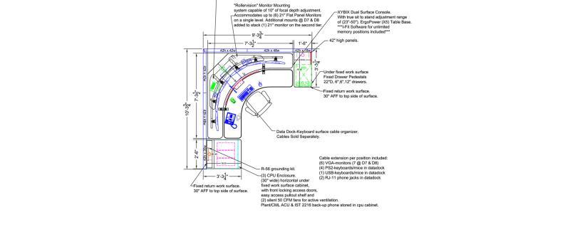 Central Lane Xybix Workstation Design