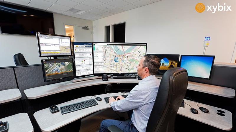 Englewood-Police-Department-Xybix Workstation