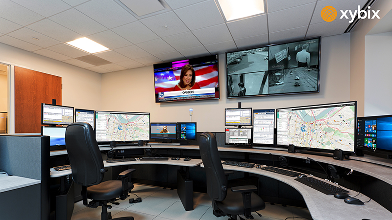 Englewood-Police-Department-Xybix Dispatch Consoles