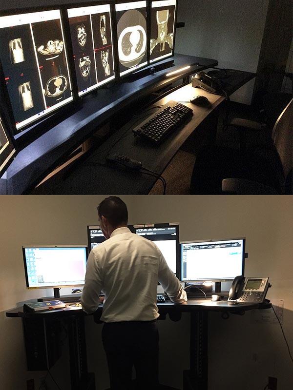 Radiology Desks