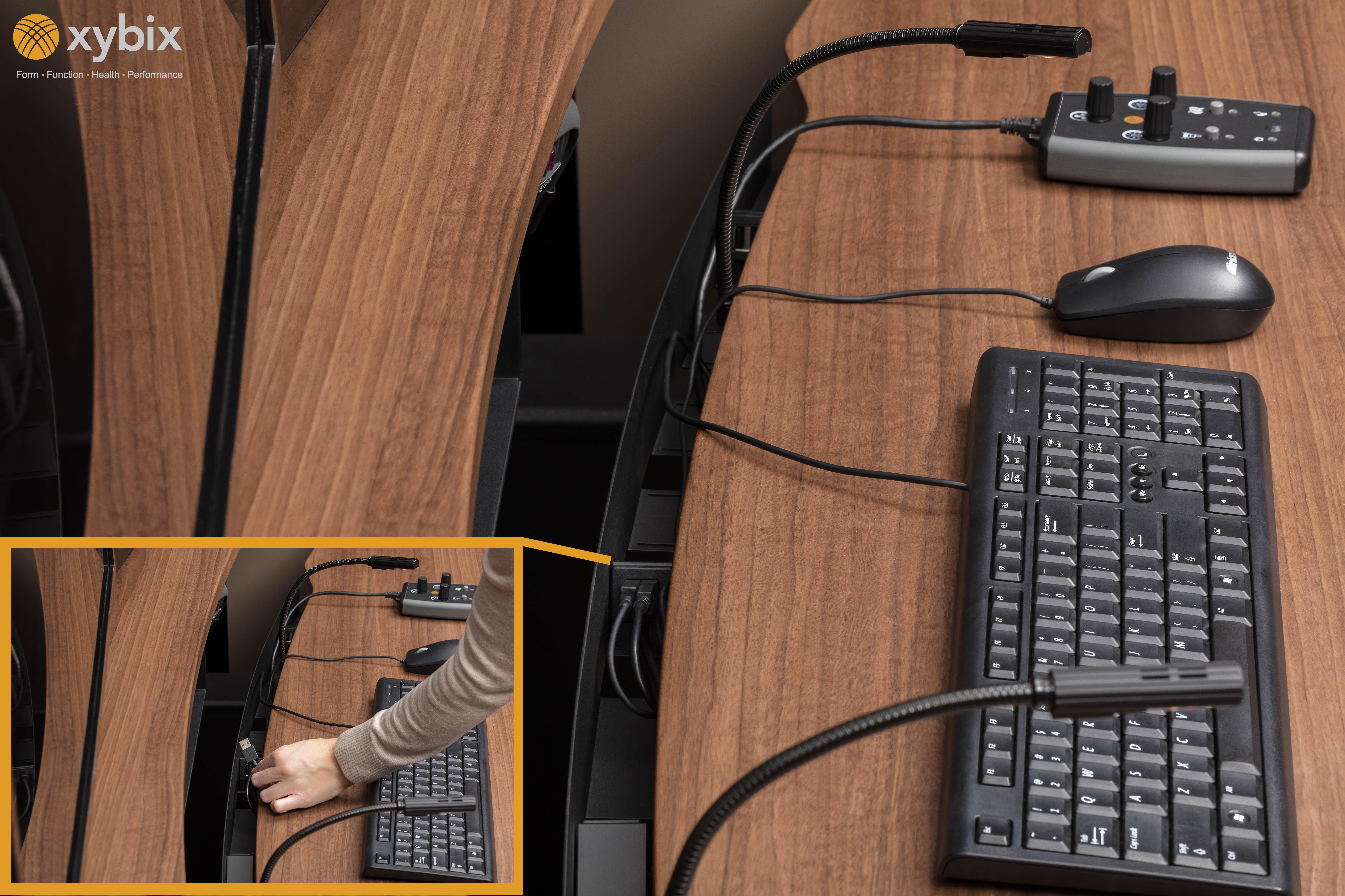 Dispatch Consoles | 911 Desks, Furniture | Xybix, Inc  | Xybix