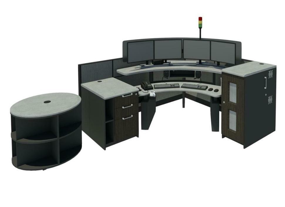 911 Dispatch Workstations | Consoles | Ergonomic Desks | Xybix