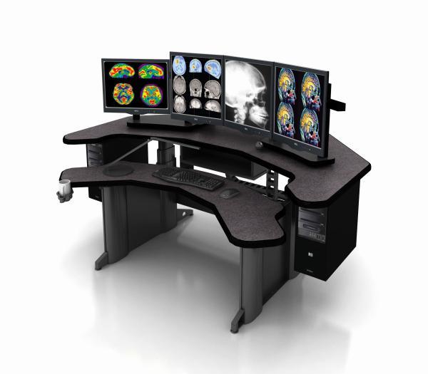 Equal Corner Imaging Desk