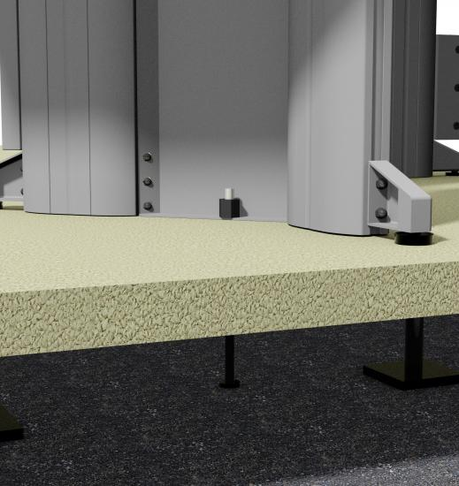 Xybix Workstation Seismic Anchoring
