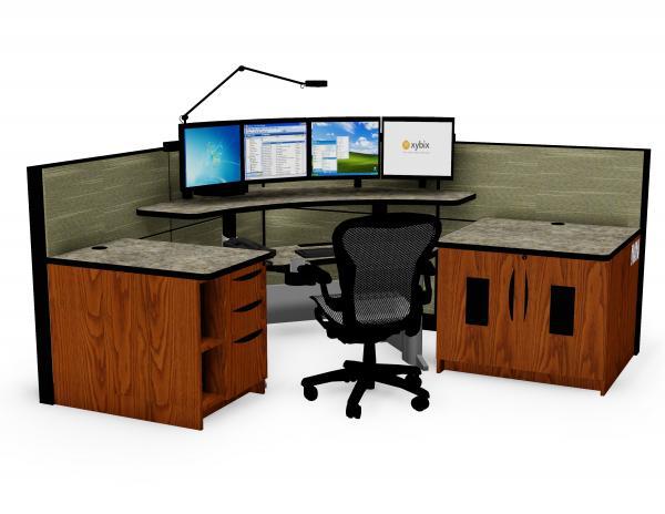 Xybix Corner Workstation